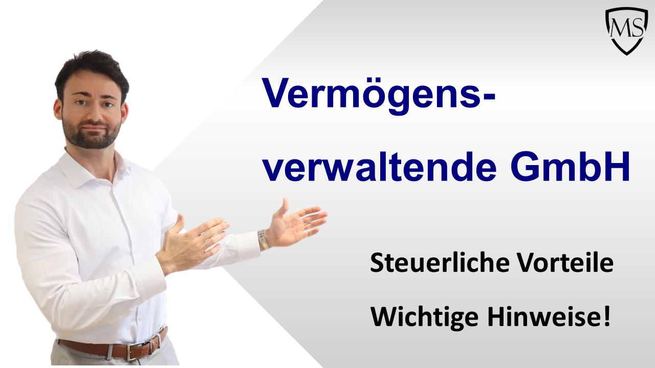 Vermögensverwaltende GmbH